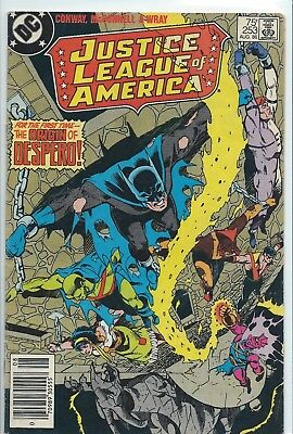 Dc Justice League - America - #253, Aug., 1986-  Protective Cover