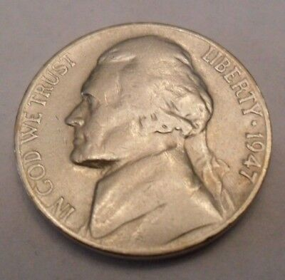 1947 S Jefferson Nickel  *AG OR BETTER*  **FREE SHIPPING**