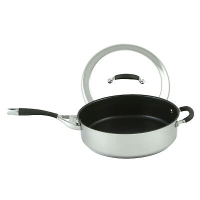NEW 30cm Steel Elite Covered Saute Pan Circulon Sauce Pans & Saute Pans