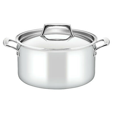 NEW 5.7L Per Sempre Covered Stockpot Essteele Sauce Pans & Saute Pans