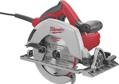 Milwaukee 6430-20 Corded Circular Saw, 120 V, 15 A, 7-1/4 in