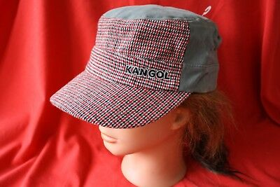 29a3c20d KANGOL UNISEX MICRO Tweed Army Cap Red S/M Nwt $30 List - $24.00 ...