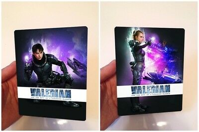 Valerian and the city of a thousand planets Lenticular Flip effect for Steelbook