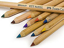 Faber-Castell Pitt Pastel Pencil Singles. Page 2. Soft White