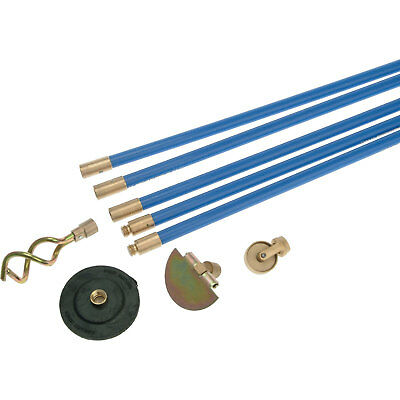 """Bailey 4 Piece Universal 3/4"""" Drain Rod Cleaning Set"""