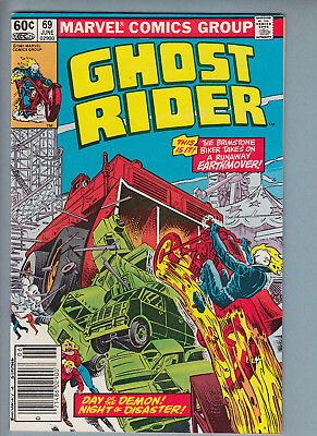 Ghost Rider #69 (Jun 1982, Marvel) VF/NM