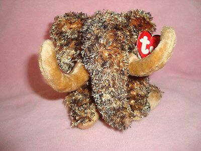 2001 TY Beanie Babies Mammoth named Giganto W/Tags 5""