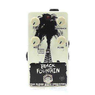 Old Blood Noise Endeavors Black Fountain Delay V2 Authorized Dealer! Brand New!