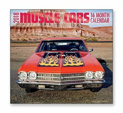 2018 American Muscle Car Calendar With 69 Chevelle Ss On The Cover