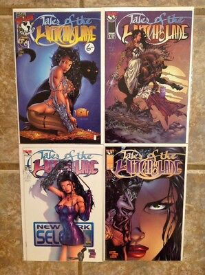 Tales of the Witchblade (1996) 1 2 3 4 NM Lot Top Cow Image Run Set