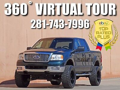 2005 Ford F-150 Lariat Crew Cab Pickup 4-Door 2005 FORD F-150 LARIAT CREW CAB! 4X4! LIFTED! ACCIDENT FREE! CARFAX CERTIFIED!