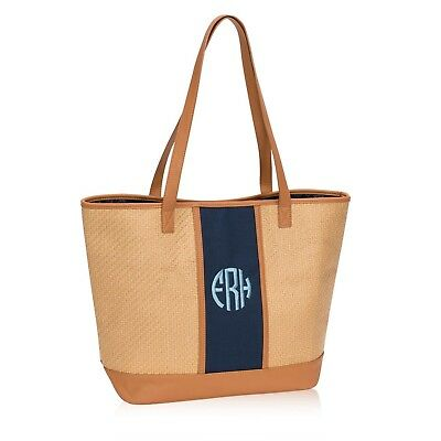 Thirty One Dream Big Tote in Natural Straw - No Monogram - 8633