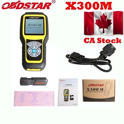 From Canada OBDSTAR X300M for Odo-meter Adjustment OBDII Correction Scan Tool
