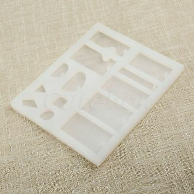 DIY Small Box Silicone Geometry Mold Making Jewelry Pendant Resin Casting Mould