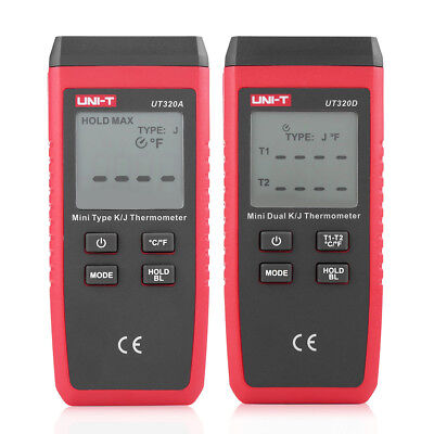 -50℃~1300℃ Contact Type Digital K/J Thermocouple Thermometer w/ LCD Display ZY