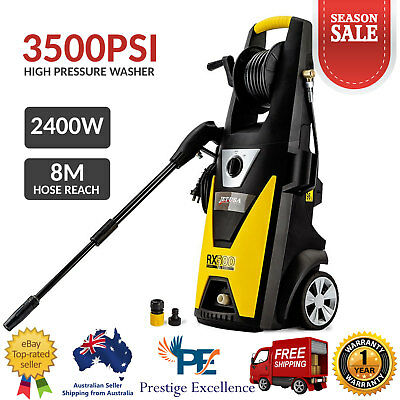 Jet - USA High Pressure Electric Pressure Washer 3500PSI Pump with 8M Water Hose