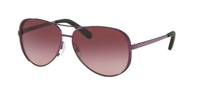 NWT MICHAEL KORS Sunglasses MK 5004 11588H Plum / Burgundy Gradient 59 mm NIB