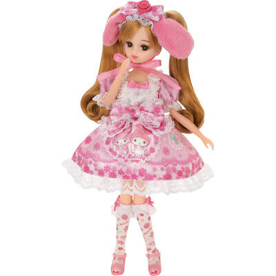 "Takara Licca Chan 9"" Doll Blythe My Melody Dress Body w/ Outfit (without Box)"