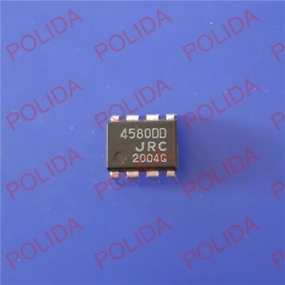 5Pcs Dual Operational Amplifier Ic Jrc Dip-8 Njm4580Dd Jrc4580Dd 4580Dd