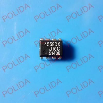 5Pcs Dual Operational Amplifier Ic Jrc Dip-8 Njm4558Dx Jrc4558Dx 4558Dx