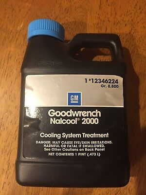 New GM Nalcool 2000 Cooling System Treatment. 12346224