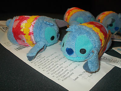 New Authentic Disney Store HAWAII EXCLUSIVE ALOHA STITCH Tsum Tsum RARE New