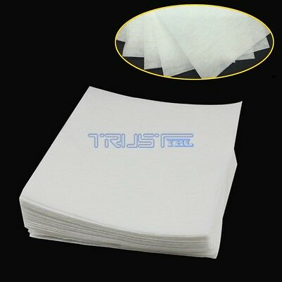 50pcs Anti-static Lint-free Wipes Dust Free Paper Dust Paper Fiber Optic Tools