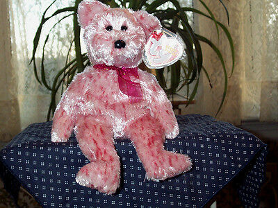 TY Beanie Baby babies bear Smitten Valentines Day 2-16-2002 retired mint tags