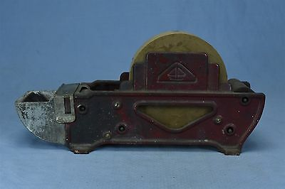 Antique CAST IRON COUNTRY STORE PACKER TAPE DISPENSER INDUSTRIAL COUNTERBOY 3202