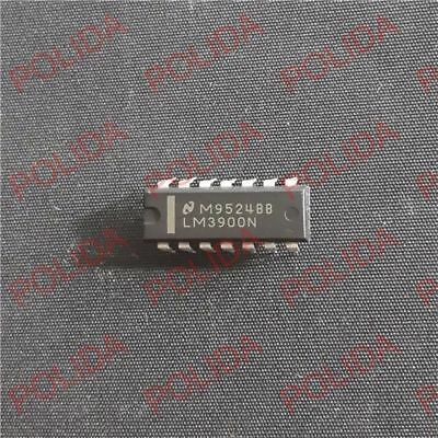 5Pcs OPERATIONAL AMPLIFIERS IC TI//MOTOROLA LM3900N LM3900NE4 DIP-14 CF