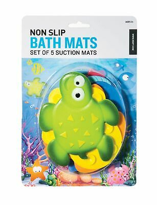 Mini Sealife Bath Mats - Set of 5
