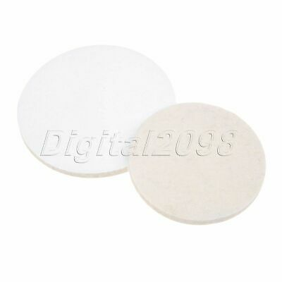Round 100/125mm Polishing Buffing Grinding Wheel Wool Felt Polisher Disc Pad Mat