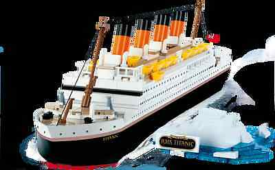 Titanic boat like Costa Concordia Lego compatible 500 bricks ship boat argosy