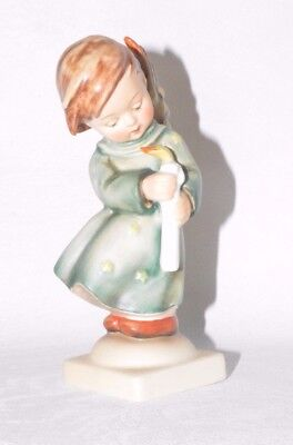 "Alte Figur Engel mit Kerze ""Heavenly Angel"" Goebel Nr. 21/0 Christkindlein #D2"
