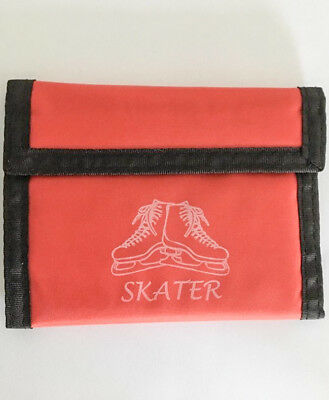 BRAND NEW  Ice Skating Red Wallet - gift