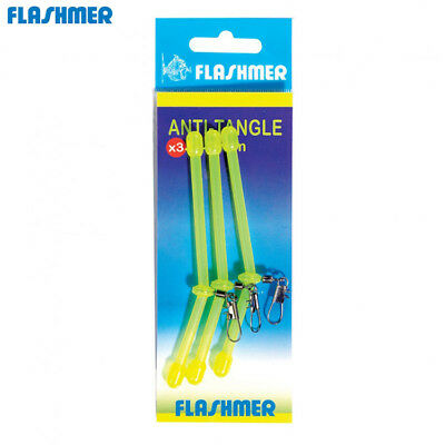 ANTI-TANGLE DE PECHE FLASHMER Modèle: 15 CM Jaune Fluo