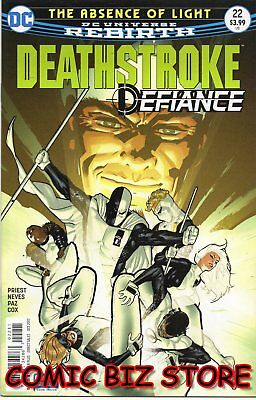 Deathstroke #22 (2017) 1St Printing Dc Universe Rebirth Bagged & Boarded