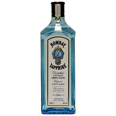 Bombay Sapphire London Dry Gin 1 L Englischer Gin 40%vol