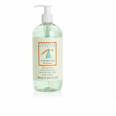Crabtree & Evelyn Gardeners Liquid Hand Soap 500ml Imperfect Packaging