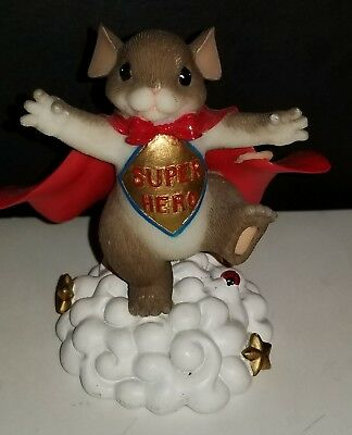 Fitz & Floyd Charming Tails- I think you're Super- 84/136 EXCELLENT CONDITION