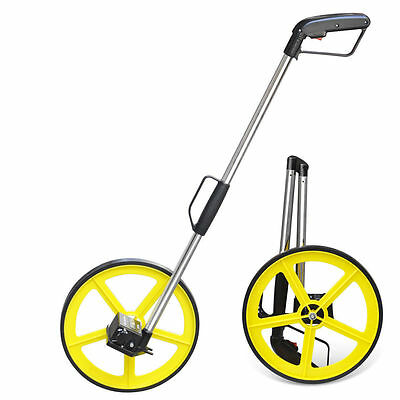 Distance Measuring Wheel BUILDERS ROAD LAND SURVEYORS Foldable with Stand & Bag