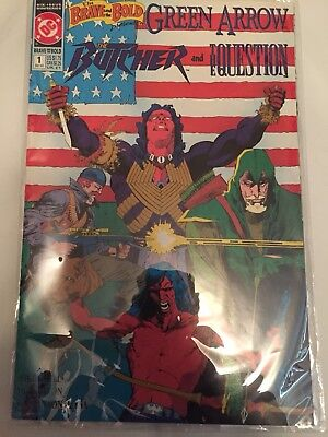 DC Comics Brave And The Bold No. 1 From 1991 Green Arrow And Butcher