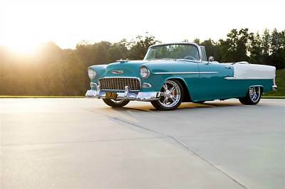 1955 Chevrolet Bel Air/150/210  1955 Chevrolet Bel Air Convertible pro touring restored