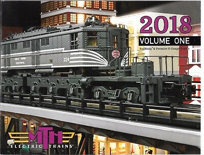 MTH 2018 Volume 1 Catalog   0 Scale Trains