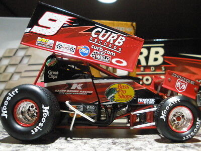 Kasey Kahne World Of Outlaws 1/24 Curb Records Sprint Car New 1 Of 6,204 Action