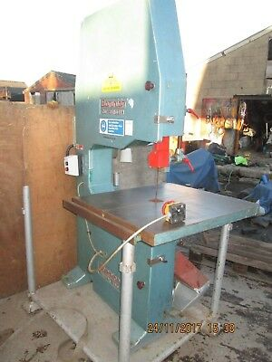 "BRITISH MADE 30"" inch DOMINION BAND SAW - WITH SAFETY BRAKE"