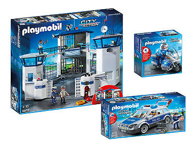 playmobil 6872 polizeistation neu ovp eur 72 39 picclick de. Black Bedroom Furniture Sets. Home Design Ideas