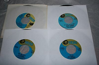 THE OSMONDS Donnie & Marie Osmond 4 Singles GO AWAY LITTLE GIRL WHO'S SORRY NOW