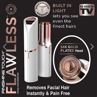 Finishing Touch Flawless Women Painless Hair Remover Face Facial Hair Remover US