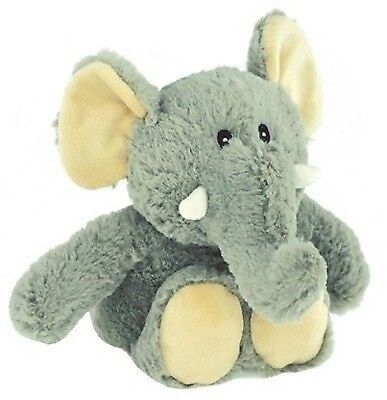 Elephant Cuddly Animal Toy As Cushion for Children NIP for Microwave M.Lavender